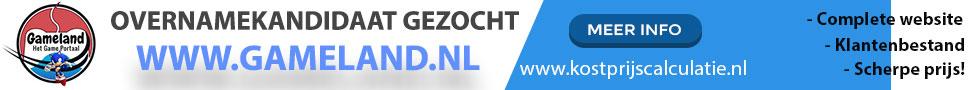Ter overname Gameland.nl