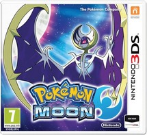 Pokemon Moon - 2DS + 3DS