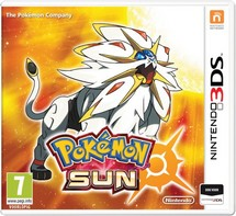 Pokemon Sun - 2DS + 3DS