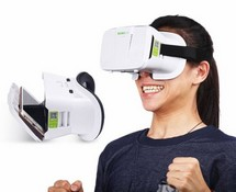 DisQounts - Bobo Virtual Reality bril - De VR bril van nu! - Kunststof - Wit