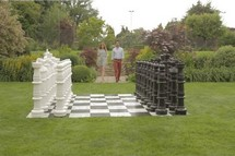 Schaken in uw tuin