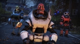 Fallout 76's jolly Fasnacht robot parade is back on