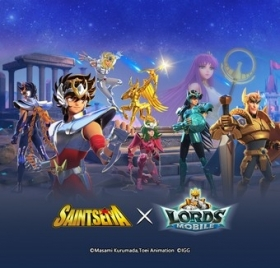 Lords Mobile Gets a New Hero, Rewards, and More in Saint Seiya Crossover Event