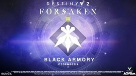 Destiny 2's Black Armory DLC Releases on December 4th – Rumour