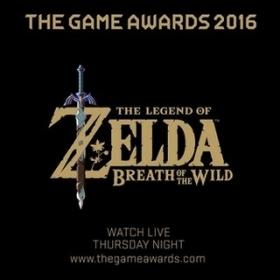 Legend of Zelda: Breath of the Wild vannacht bij The Game Awards